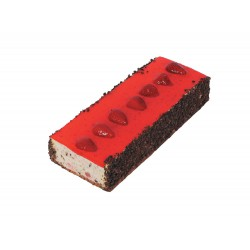 Strawberry Cointreau Log
